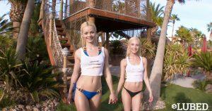 Lubed Piper Perri & Elsa Jean in Wet & Wild Besties 23