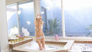 Lubed Piper Perri in Hot Tub Fuck Machine 25
