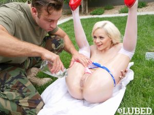 Elsa Jean in Memorial Day Lube Fest 22