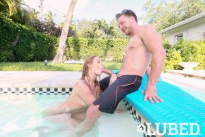 Daisy Stone in Messy Pool Party 12